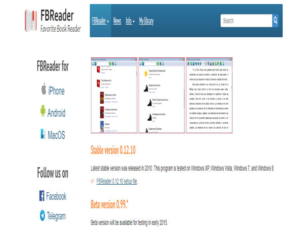 FBReader for Ebooks