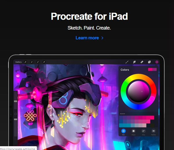 procreate for drawing