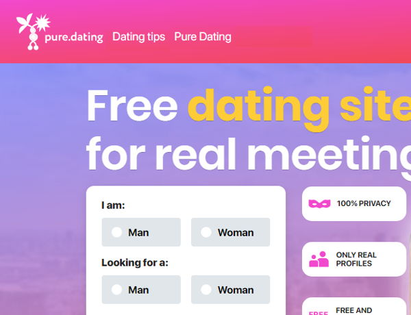 Pure Dating, best dating site