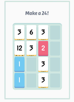 Threes Browser game