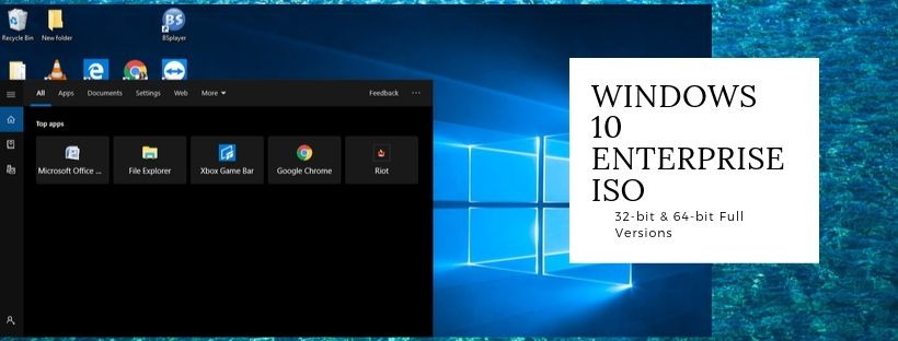 Download Free Windows 10 Enterprise ISO