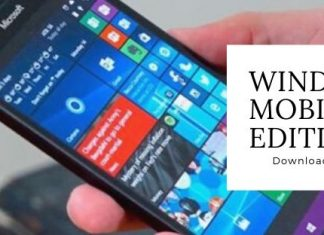 Download Free ISO of Windows 10 Mobile