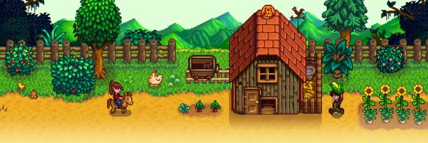 Stardew Valley farming game