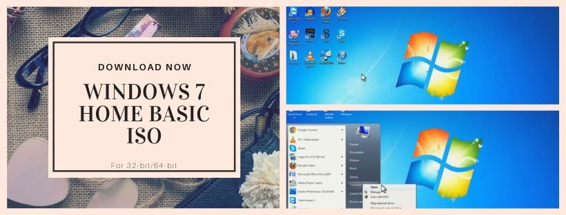 Download Windows 7 Home Basic Free ISO