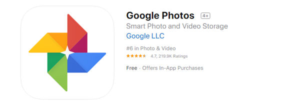 Google Photos for iphone