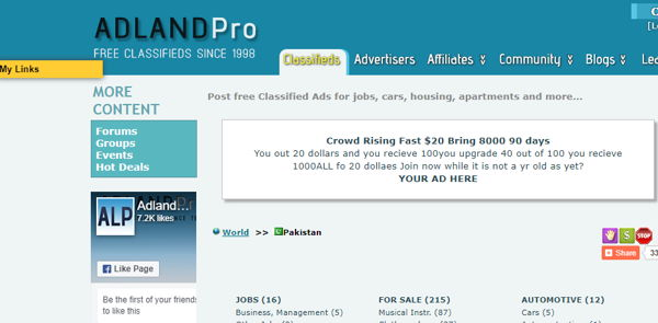 Adlandpro for sale and purchase